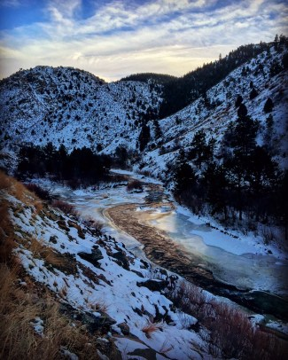 Clear Creek Canyon.