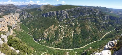 Gorge du Verdon overlook.