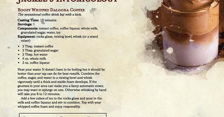 Boozy Whipped Dalgona Coffee