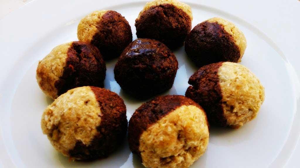 Chocolate coconut delights