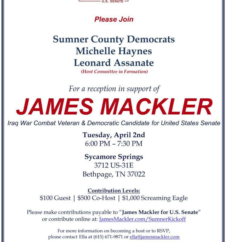 Meet James Mackler!