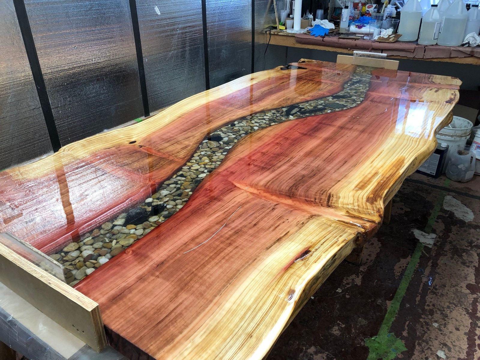 live edge slab in sumner wa