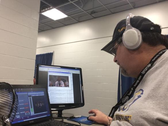 Broadcasting the KHSAA in March 2014