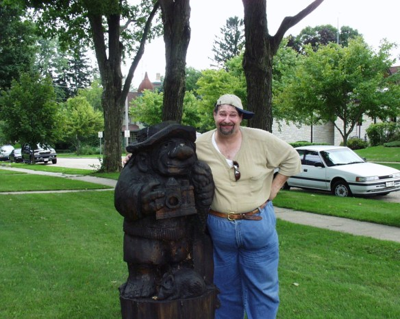 Giant Troll of Mt. Horeb (the one of the left silly!!)