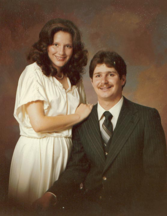 Our Wedding Photo 1979 - we celebrate 35 years in July 2014