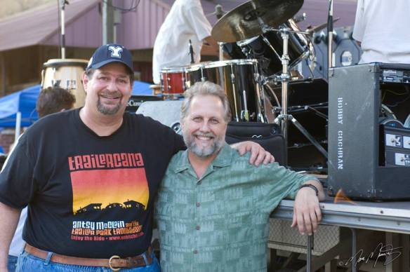 Here I am with Bobby Cochran in 2011