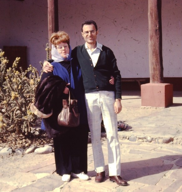 A rare photo of my step father Joe Kravetz and my step mother Marge - ca. 1978