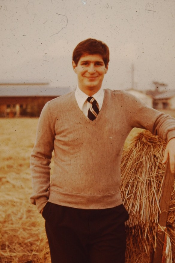Serving as a missionary in Fuji, Japan 1978