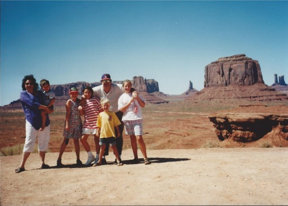 Family in Monument Valley 1993