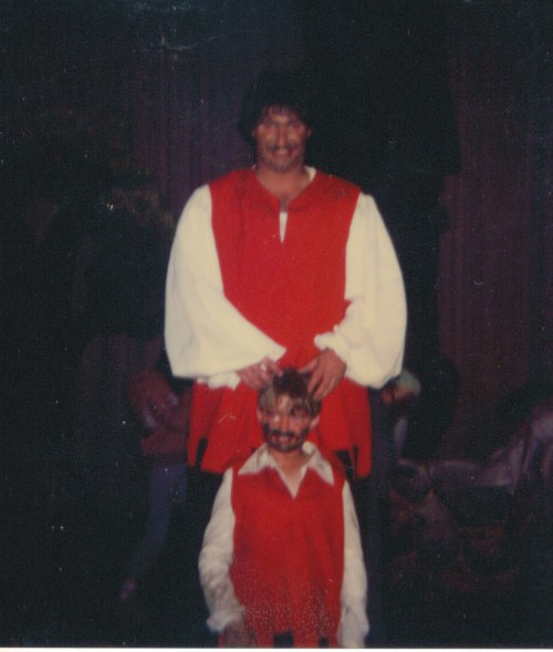 I was the terrible giant in a Jack and the Beanstalk play back in the early 1980s in Flagstaff....Fee Fi Fo Sumoflam