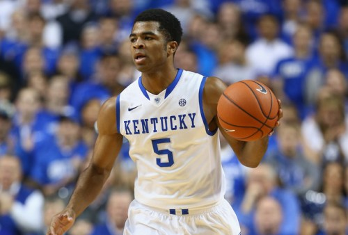 UK Basketball player, Sophomore Andrew Harrison