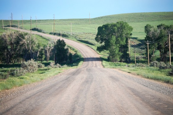 Gravel road E of Craig CO June 2013-X2