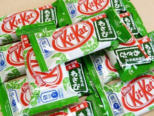 Wasabi KitKats?