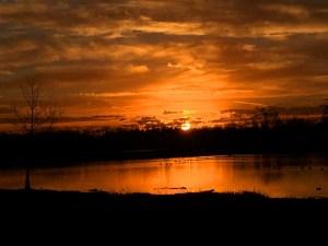 Glorious Thanksgiving Sunrise