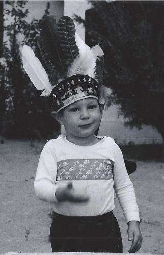 Another one from 1958 maybe? Even back then I liked goofy hats!