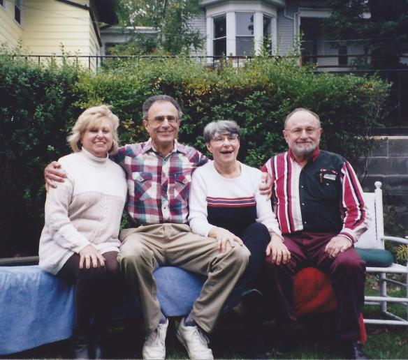 Joe and siblings: (L-R) Sylvia, Joe, Evelyn and Lou.