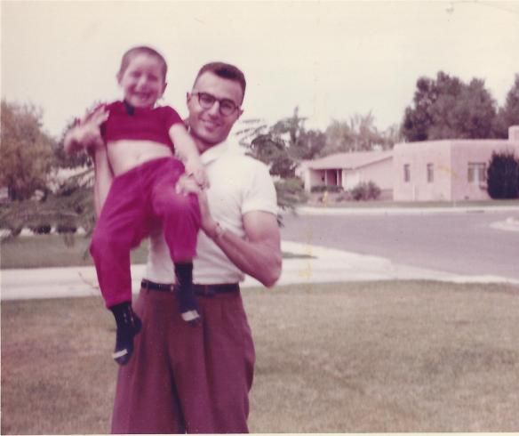 Playing with Dad in the 1960s
