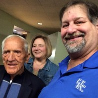 Julianne and I meet with acclaimed author Dr. T. Colin Campbell