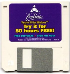 AOL Floppy - 50 hours for free