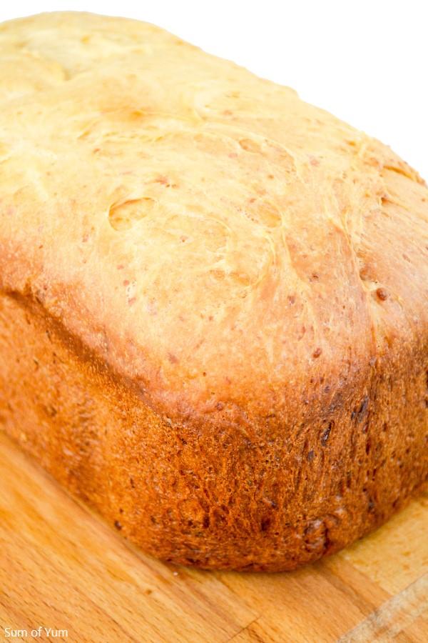 Cheddar Cheese Bread Bread Machine Recipe Sum Of Yum