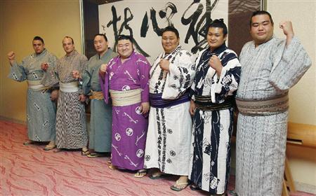 Los siete shin-Juryo