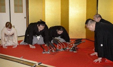 El nuevo Yokozuna Kakuryu (Foto: Kyodo News)