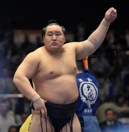 El antiguo Yokozuna Asashoryu promocionará el sumo en Kazajistán (Foto: Martina Lunau)