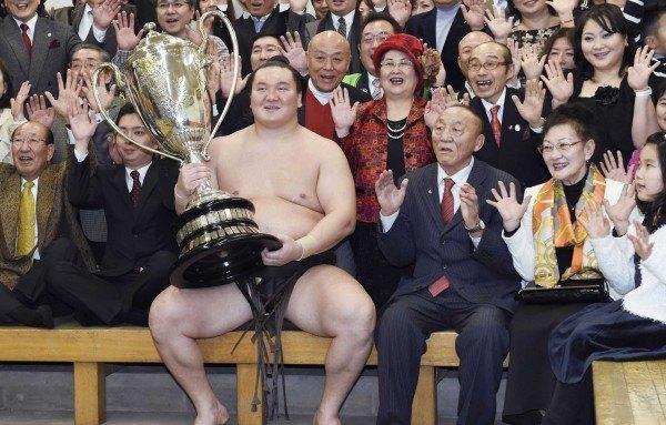 El Yokozuna Hakuho ha conseguido ya 36 títulos de la máxima división