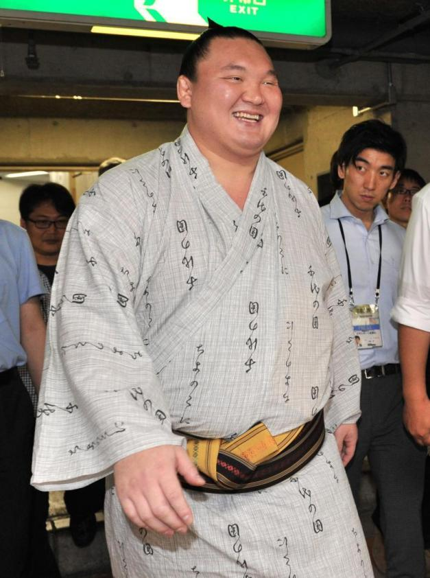 El Yokozuna Hakuho se mantiene invicto pero realizando un estilo de sumo poco atractivo para el público japonés (Foto: Sumoforum.net)