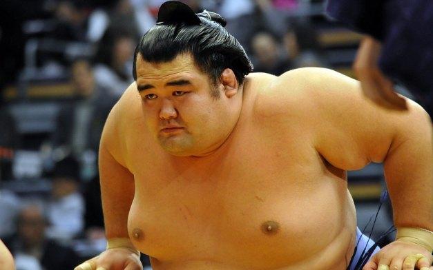 El Ozeki Kotoshogiku acumula ya tres derrotas en este Hatsu Basho (Foto: Martina Lunau)