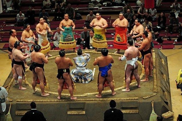 Ceremonia del Juryo Dohyo-iri