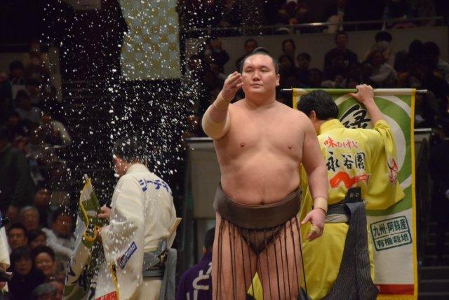 Yokozuna Hakuho