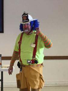Buckets the Fire Safety Clown