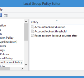 Restrict Failed Login Attempts and Lockout Duration in Windows