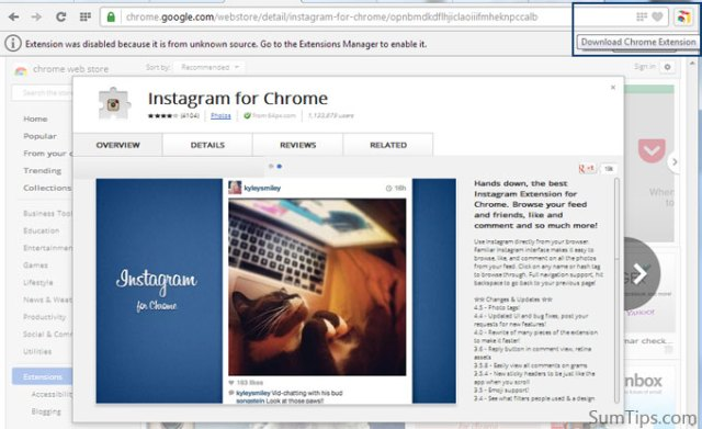 Install Google Chrome Extensions in Opera directly from Web Store