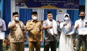 Plt Walikota Peringati Maulid Nabi di SMK Negeri 5 Tanjungbalai