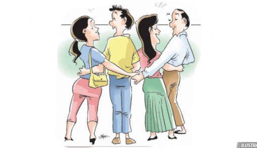 suami tak lagi gagah istri lihai bangun cinta segitiga sumut pos
