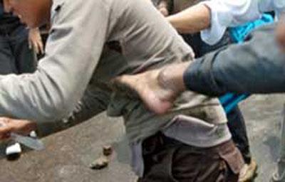 Amankan Begal dari Massa, Bripka Polisi Malah Dipukuli