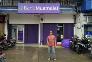 Nasabah Bank Muamalat KCP Panyabungan, Nirwan Parlaungan.