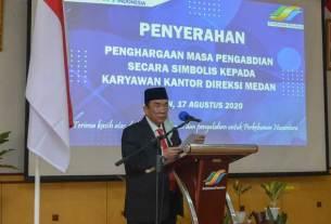 Direktur Pelaksana Holding Perkebunan Nusantara, Ahmad Haslan Saragih.