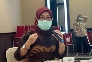 JELASKAN: Deputi Direksi Wilayah Sumatera Utara (Sumut) dan Aceh, Mariamah.