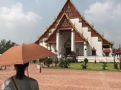 【バンコク】アユタヤ遺跡、象乗り、仏教が渡る前の信仰は?