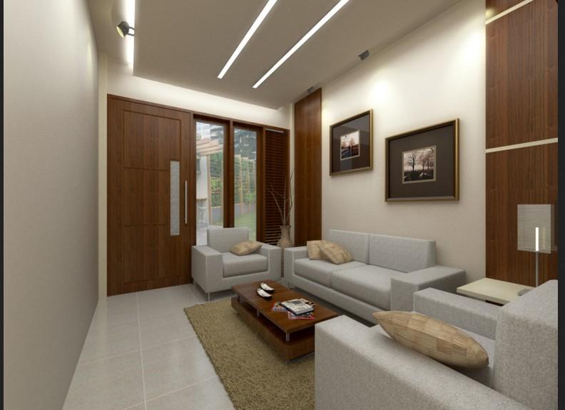 interior ruang tamu pada desain rumah minimalis type 36 2 jpg