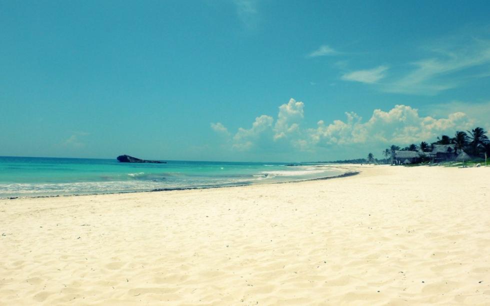 Quintana Roo Mexico Beach
