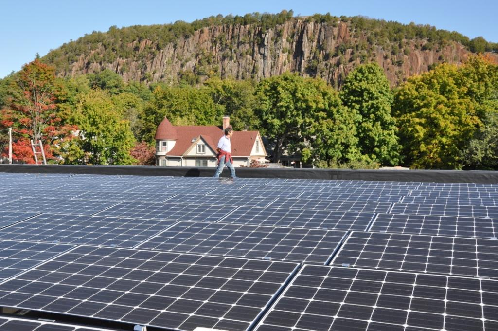 Commercial Solar-Installation-On-Non-Profit New London, CT