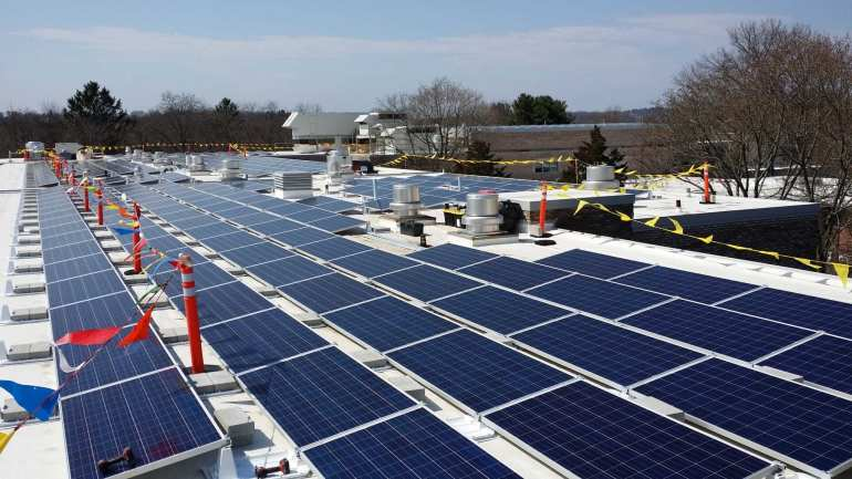 Fairfield-CT-350kw Solar Energy Installer Commercial | Sun-Wind Solutions | Connecticut
