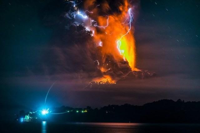 Выдающиеся снимки извержений вулканов Франциско Негрони