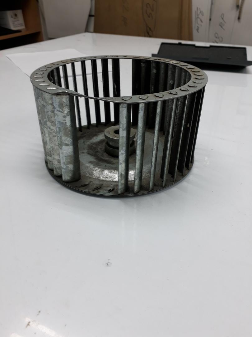 крыльчатка центробежного вентилятора - беличье колесо