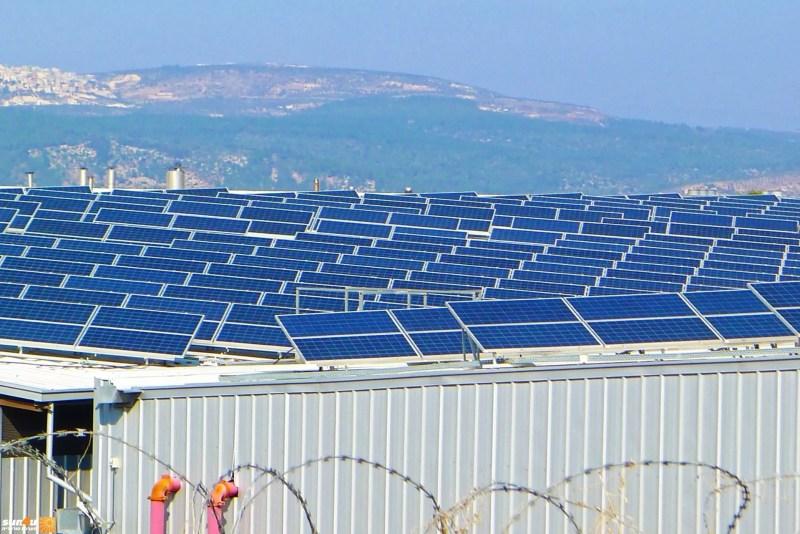 פאנלים סולאריים בישראל