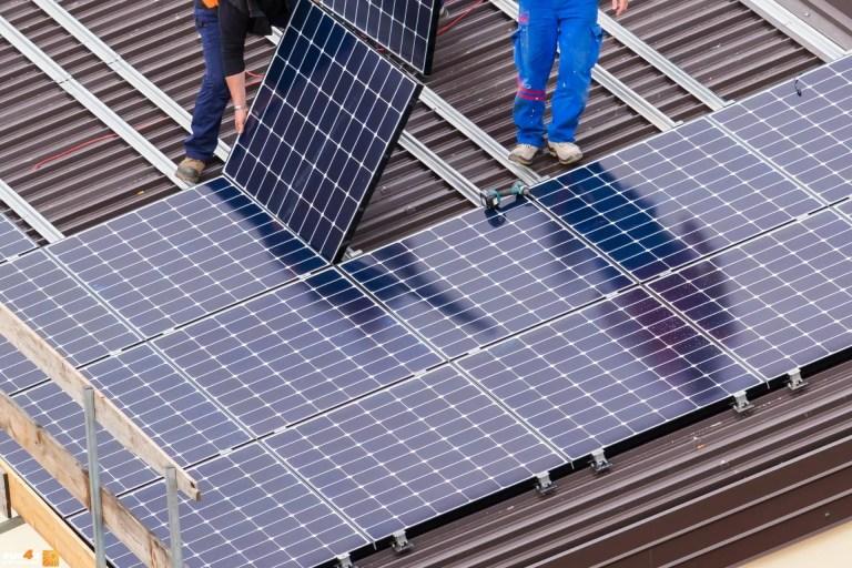 התקנת מערכת סולארית